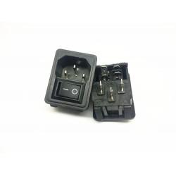 POT-OBROTOWY 1X50KA-LOGARYTMICZNY 9x11 L=15/6mm