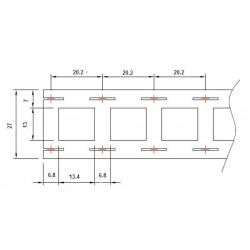 KONEKTOR ŻEŃSKI 4,8mm (100 SZTUK) na przewód 0,3-1mm