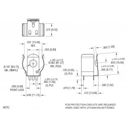 BEZPIECZNIK SZKLANY PCB F2A 250V(10SZT)