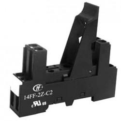 GNIAZDO PRZEKAŹNIKA NA SZYNĘ HF115F/RM84