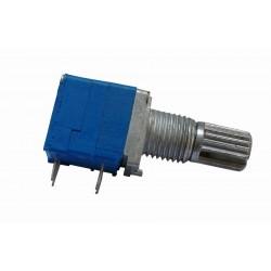 POTENCJOMETR OBROTOWY 2X10KB-LINIOWY 9x11 L=15/6mm