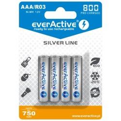 AKUMULATORKI everActive R03/AAA Ni-MH 800