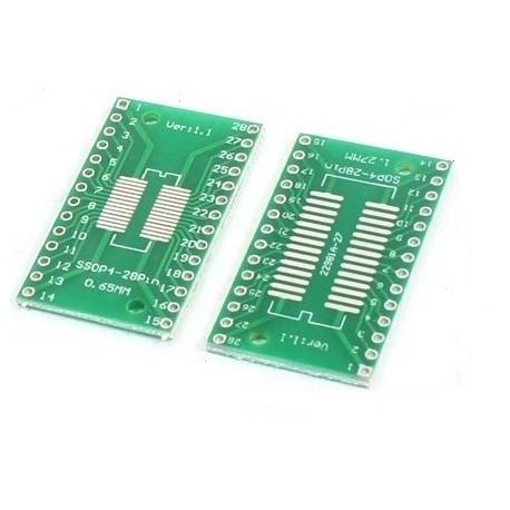 Adapter SOP28 na DIP28,SSOP28 na DIP28