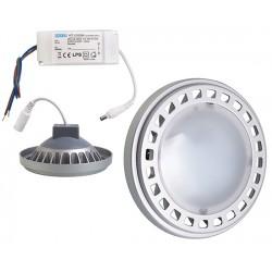 ŻARÓWKA LED SMART AR111/QR111 15W ZASILACZ