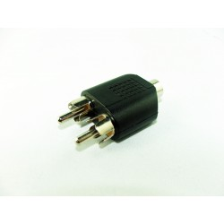 ADAPTER JACK 3,5mm 2X RCA -WTYK