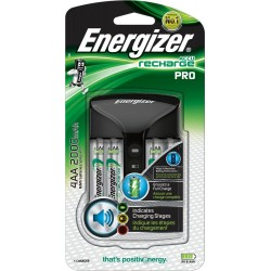 ŁADOWARKA Ni-MH ENERGIZER  PRO + 4 x R6/AA 2000mAh