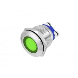 KONTROLKA LED 22mm ZIELONA 230V