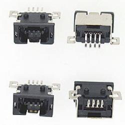GNIAZDO USB TYP-A MINI SMD 4 PIN 1SZT