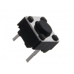 TACT SWITCH 6X6mm h-4,3mm 2-PIN  10-SZTUK