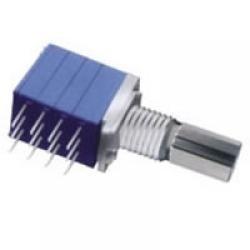 POTENCJOMETR OBROTOWY 4X50KB-LINIOWY 9x11 L=15/6mm