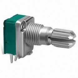POTENCJOMETR OBROTOWY 1X500KB-LINIOWY 9x11 L=15/6mm