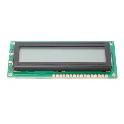 WYŚWIETLACZ LCD 2X16 PODŚ NIEBIESKIE BIAŁE ZNAKI