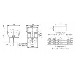 RADIATOR ALUMINIOWY 48x48x18mm