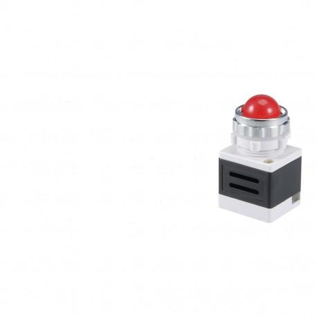 KONTROLKA LED CZERWONA  230V  AD11-25/40