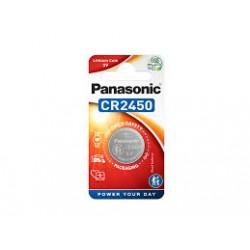 BATERIA CR2450 3V BLISTER PANASONIC