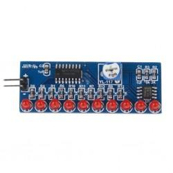 Moduł LED `pływające światło` CD4017 KIT SMD