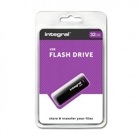 PENDRIVE 32GB INTEGRAL USB2.0 BLACK