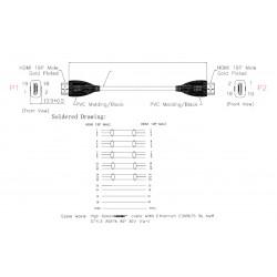 PRZEWODY MIERNIKA BANAN WTYK 75cm-BLISTER