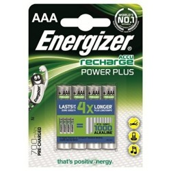 AKUMULATORKI ENERGIZER R03/AAA Ni-MH 700mAh Power Plus