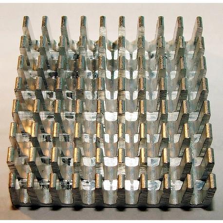 RADIATOR ALUMINIOWY 35X35X10mm